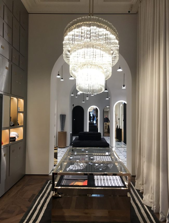 9c88f2c975a Balmain unveils its new Parisian boutique