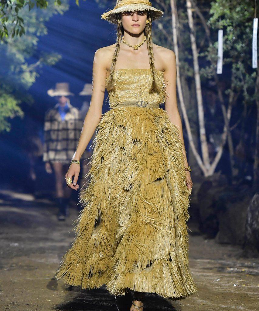 Un défilé Dior empreint de conscience écologique