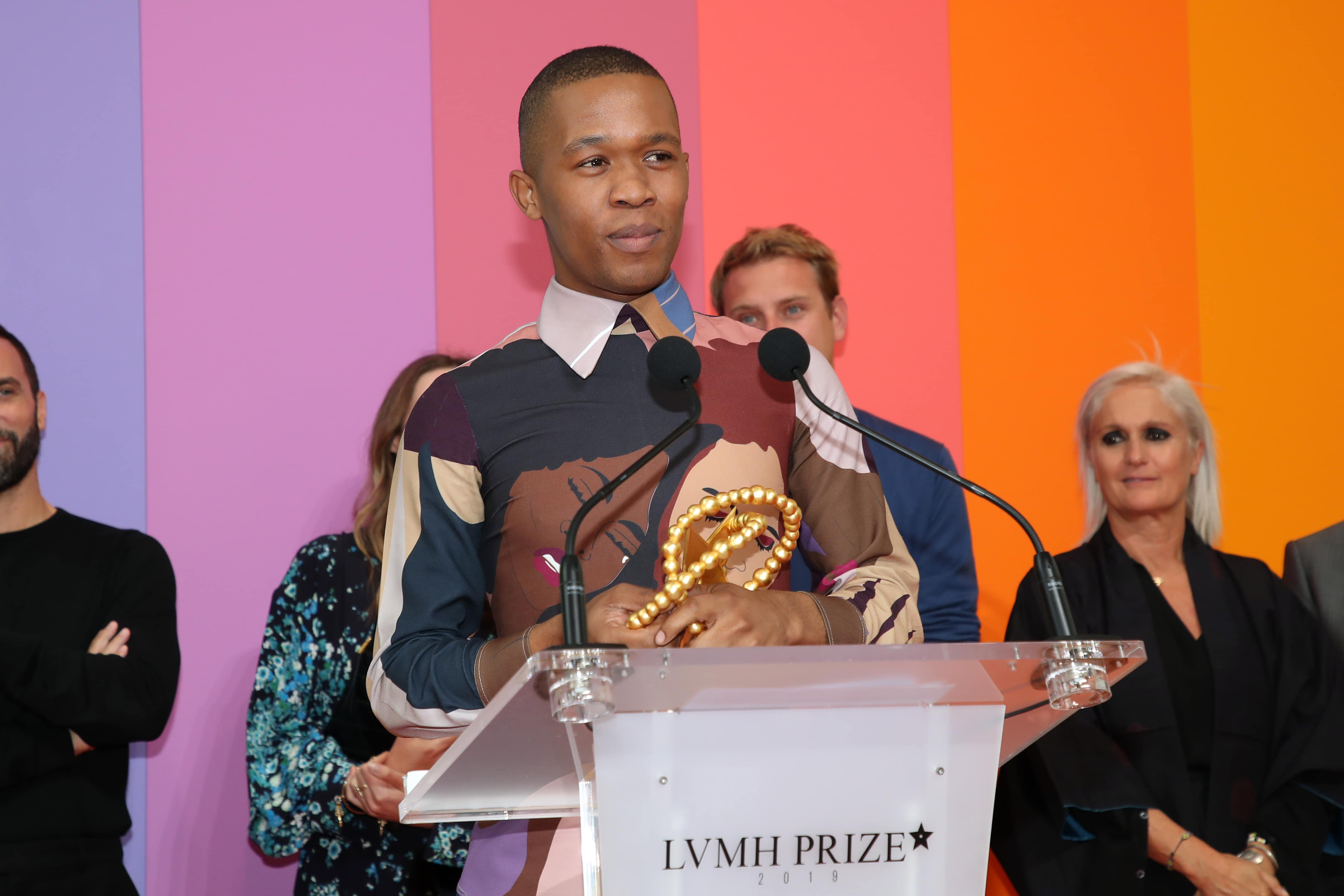 2019 Lvmh Prize For Young Fashion Designers Thebe Magugu Becomes First Ever Recipient From Africa Luxus Plus