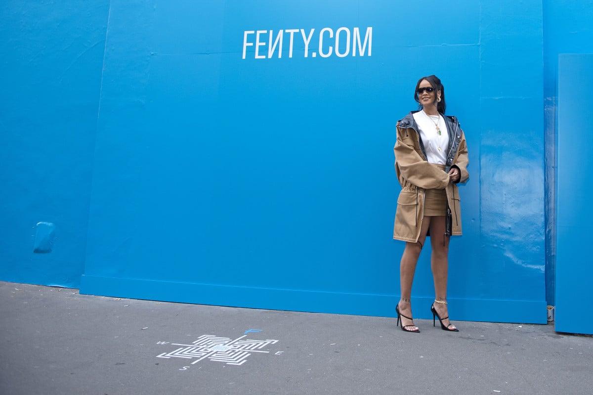 Un premier pop-up store Fenty aux Galeries Lafayette Champs-Elysées