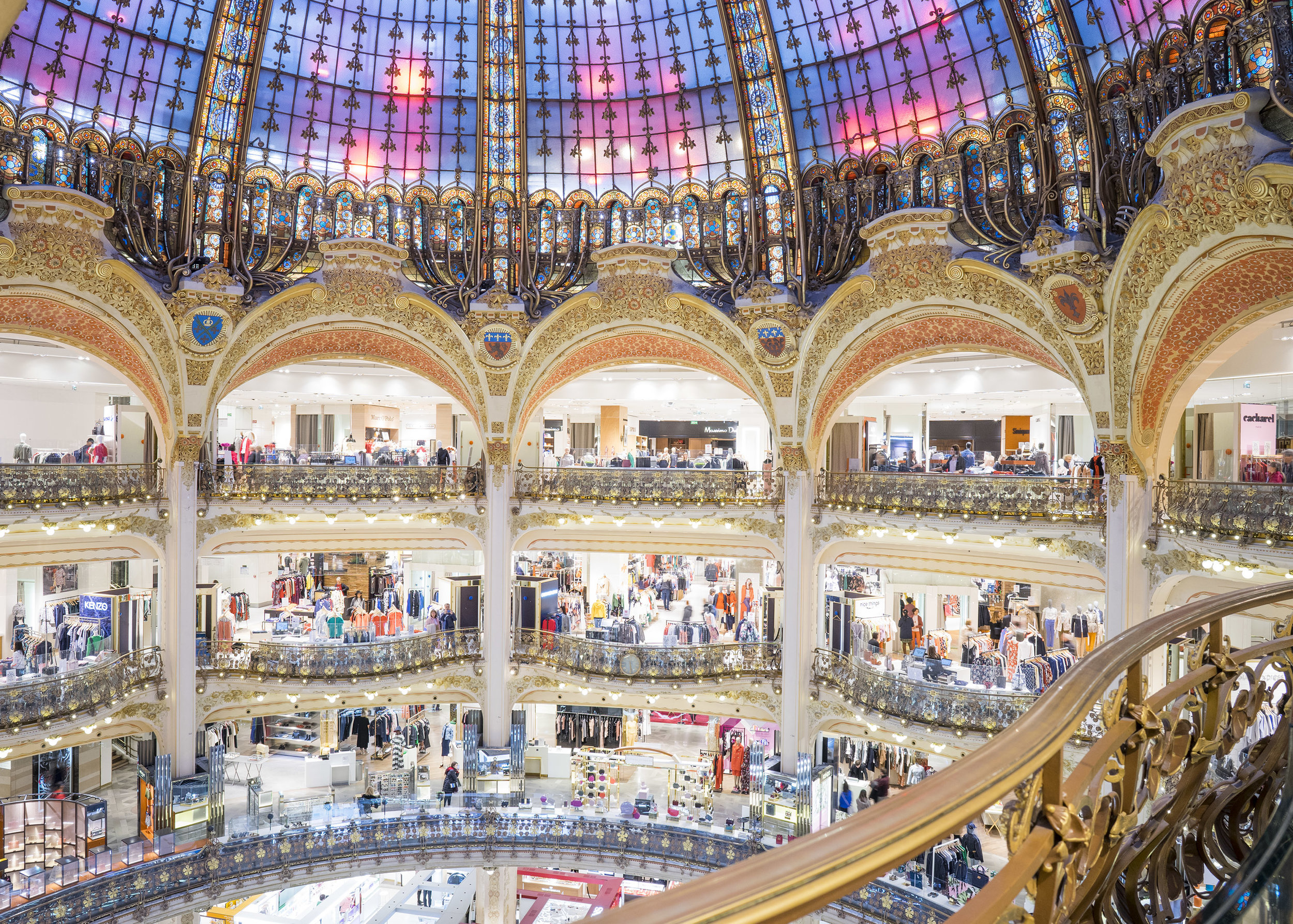 France : Galeries Lafayette in Paris reopen on Saturday - Luxus Plus