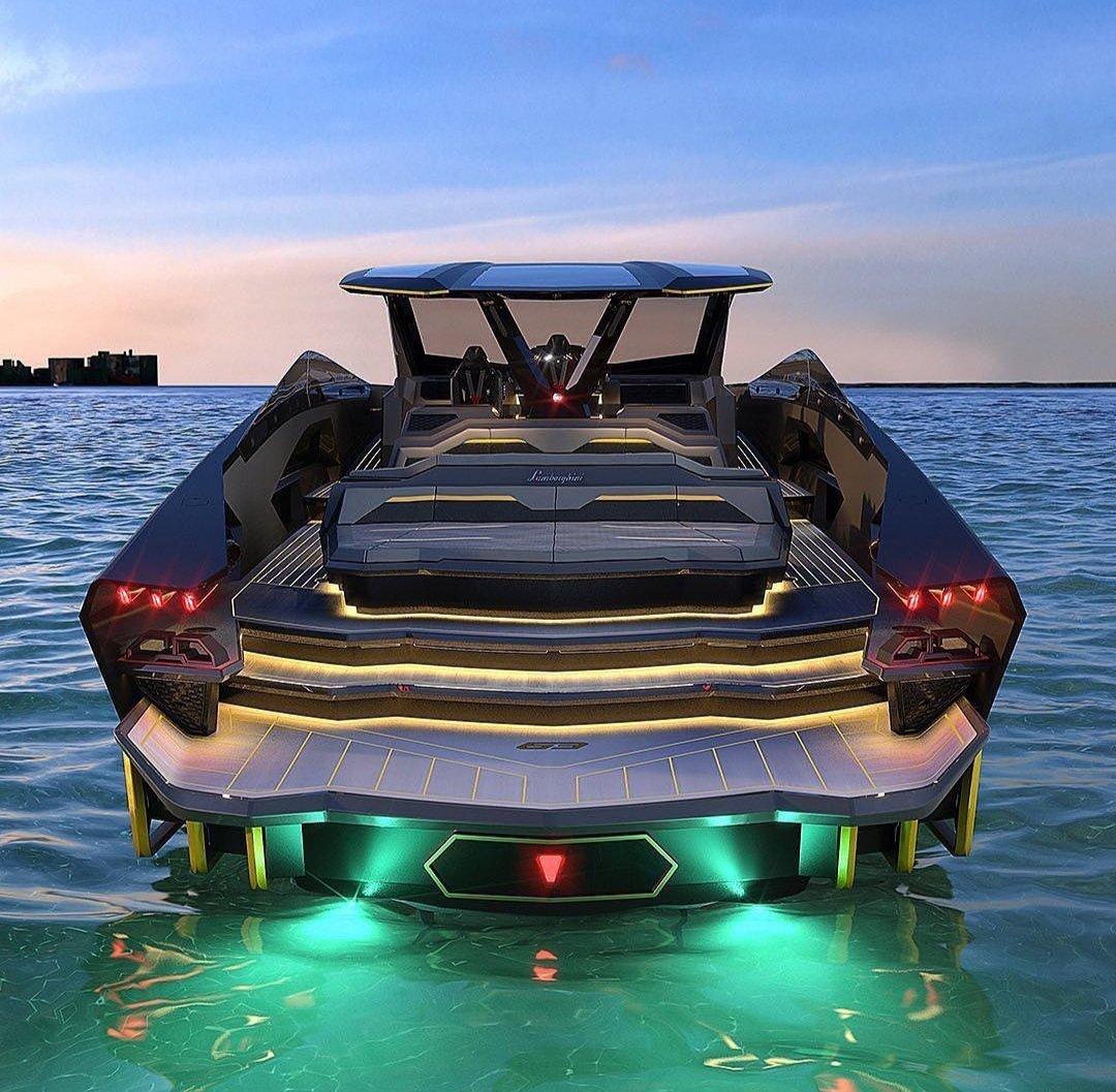 Lamborghini unveils new futuristic luxury yacht - Luxus Plus