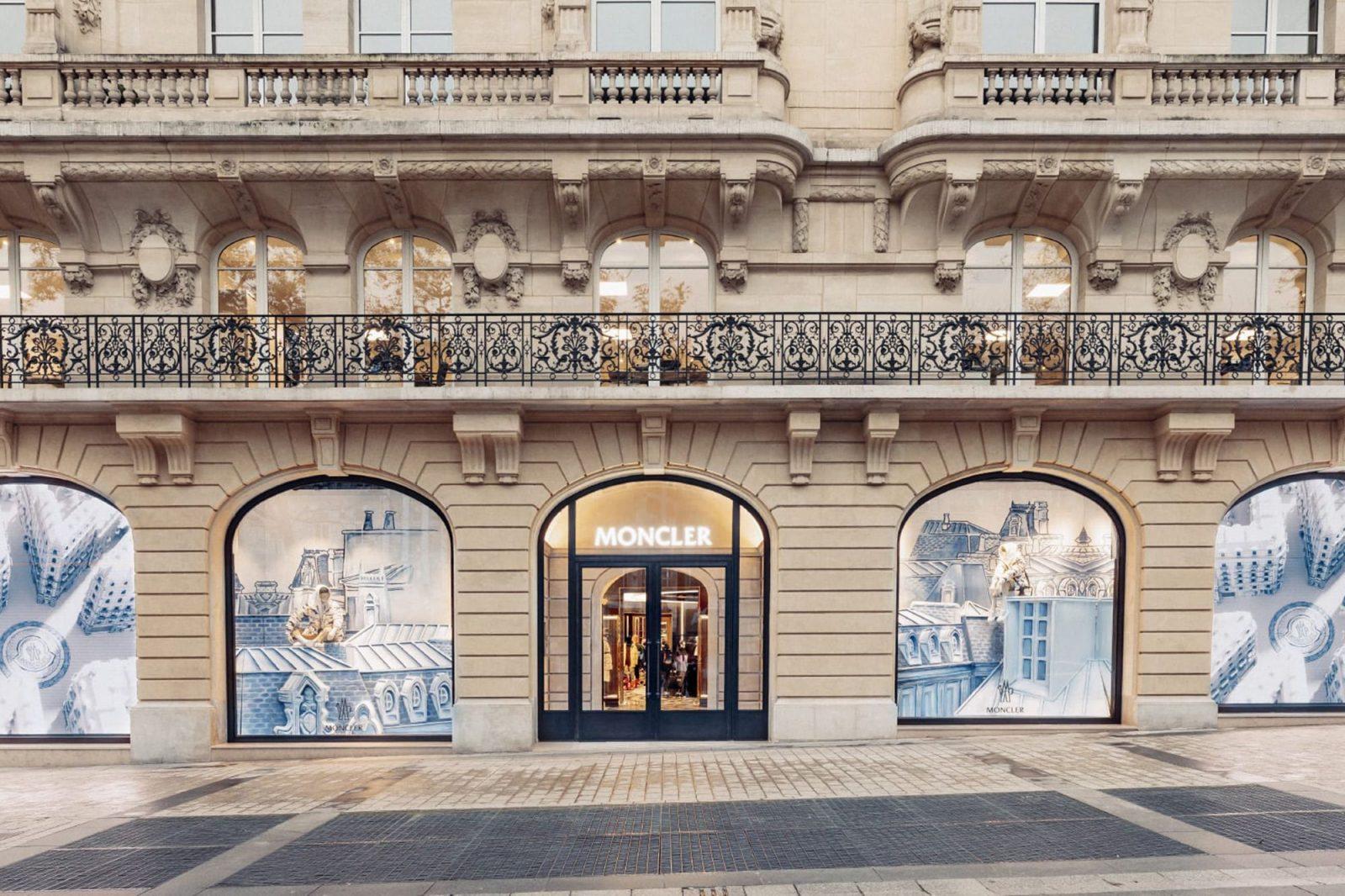 Malgré le contexte sanitaire, Moncler édifie son Flagship Store sur les Champs-Elysées