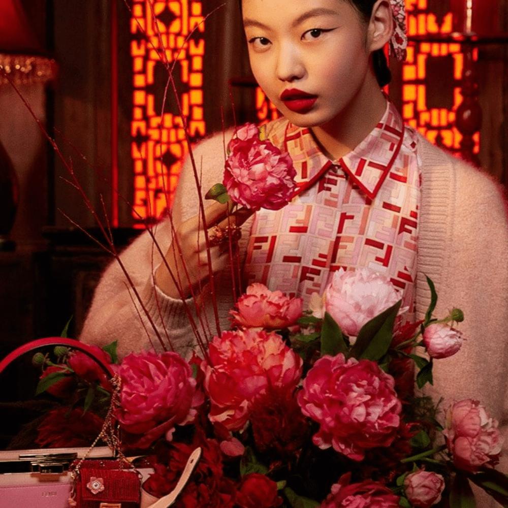 Fendi s'habille en rouge à l'occasion du nouvel an chinois